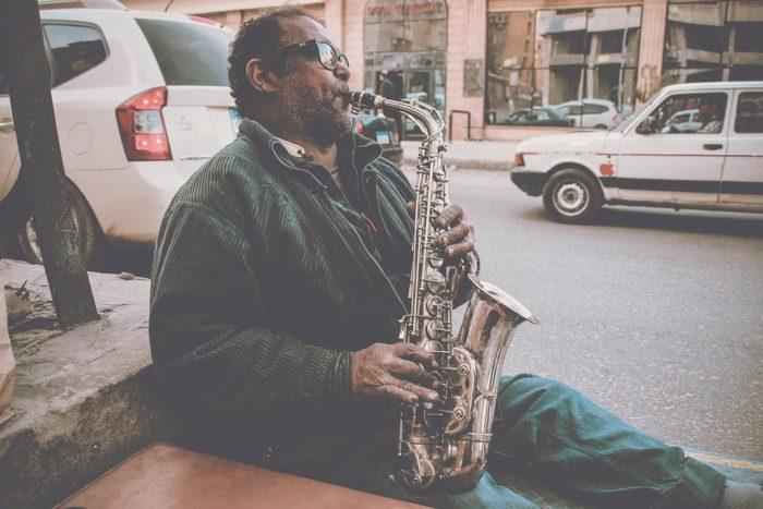 Saxophon Atemübung