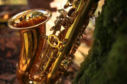Altsaxofon und die Natur